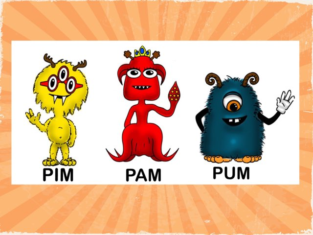 PIM PAM PUM by Rosalia Quiroga