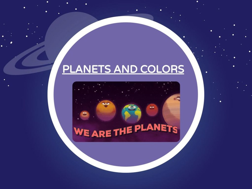 PLANETS AND COLORS by Leticia Longato