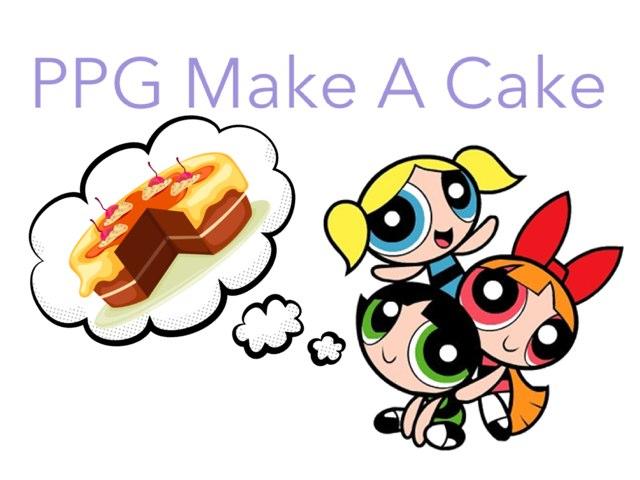 PPG Make A Cake by Aleya Rahman