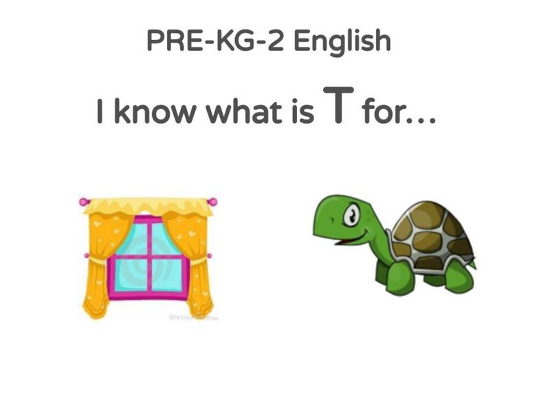 PRE-KG-2 English 03/05/2021 by Vantage KG