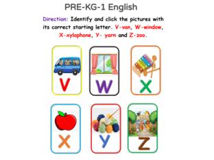 PRE-KG 1 English 8/05/2021 by Vantage KG