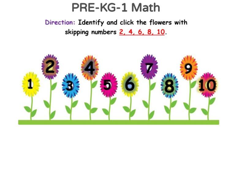 PRE-KG 1 Math 08/05/2021 by Vantage KG