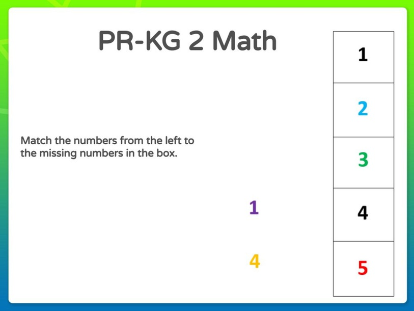 PR-KG-2 Math 11/04/2021  by Vantage KG