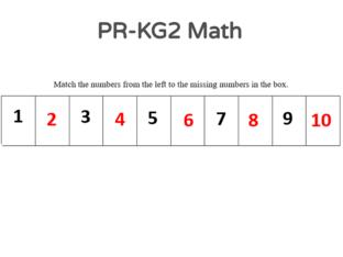 PR-KG2 Math 18/04/2021 by Vantage KG