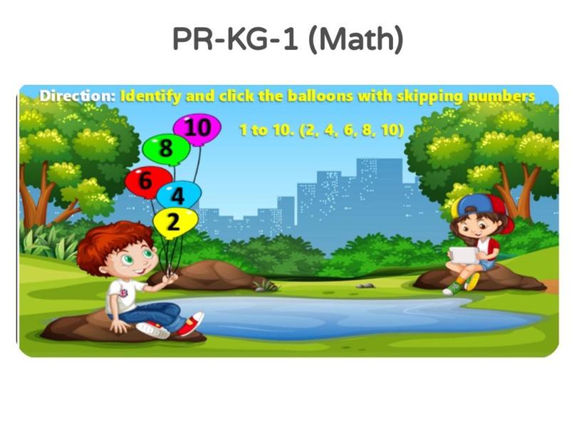 PR-KG 1 Math 18/04/2021 by Vantage KG