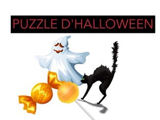 PUZZLE D'HALLOWEEN. by Valerie Escalpade