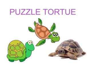 PUZZLE TORTUE  by Valerie Escalpade