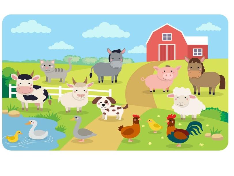 PUZZLE FARM ANIMALS by annisaa belladina
