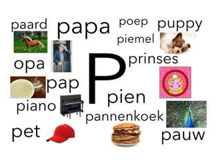P by Miranda Dijkstra