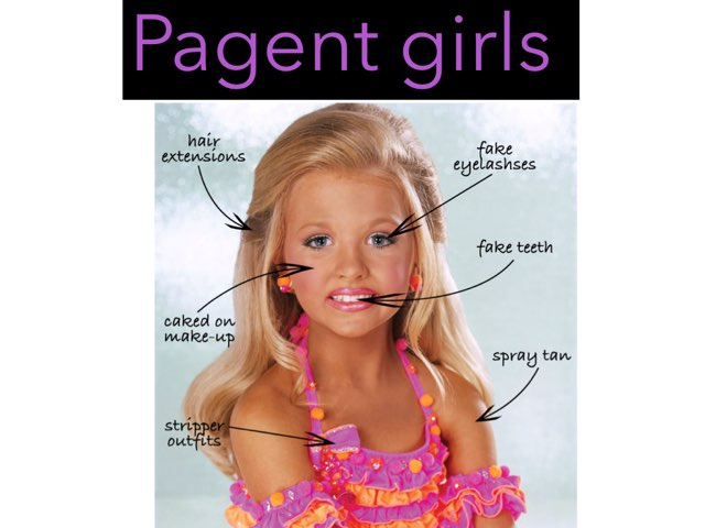 Pagent Girls  by Jessica Watne