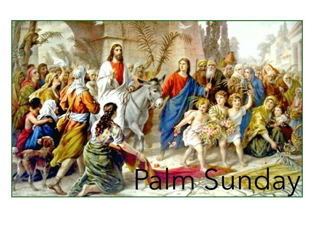 Palm Sunday  by Laurie Friedrich