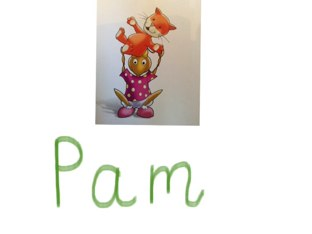 Pam And The Cat by Laura Simpson