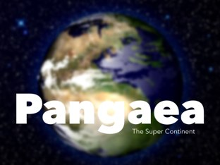 Pangea Super Continent by Yogev Shelly