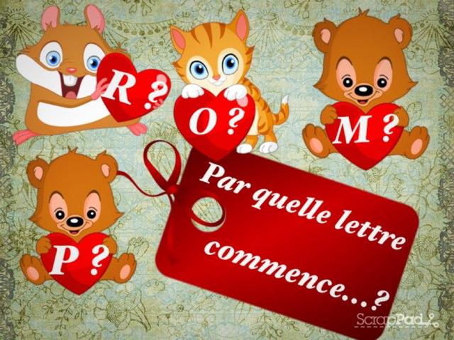 Par Quelle Lettre Commence... by Alice Turpin