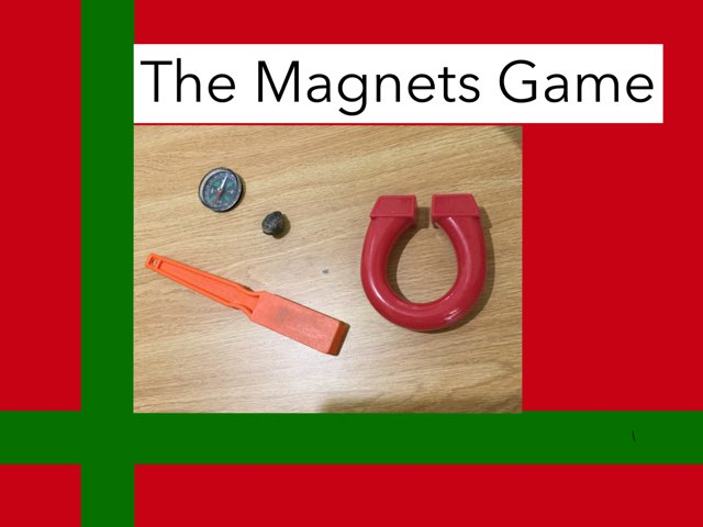 Parker's Magnet Game by Frances Chapin