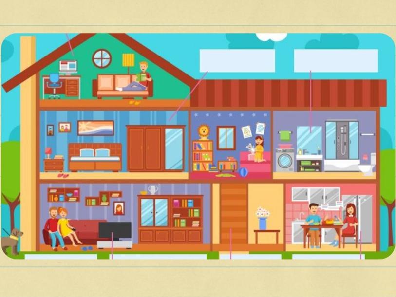 Partes de la casa by Sonia Maldonado