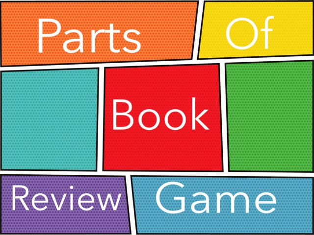 Parts Of A Book Review by Betsy Rouse