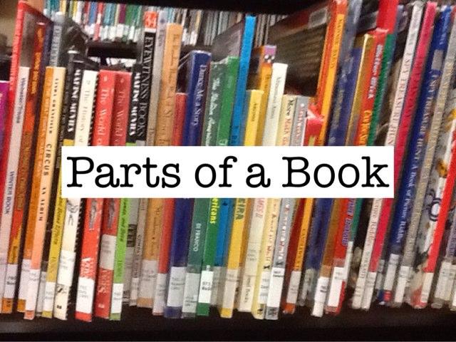 Parts Of A Book by Amanda Korell