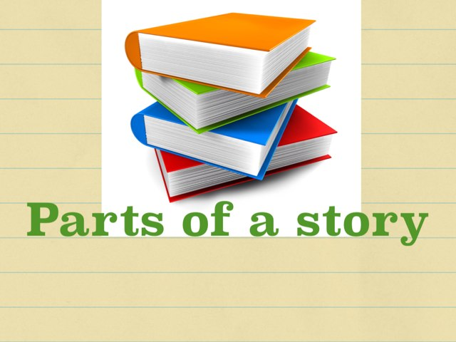Parts Of A Story by Kristen Halloran