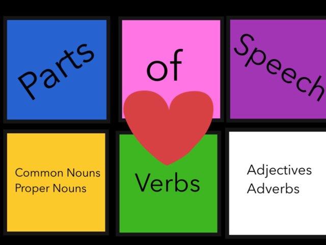 Parts Of Speech Practice by Jennifer