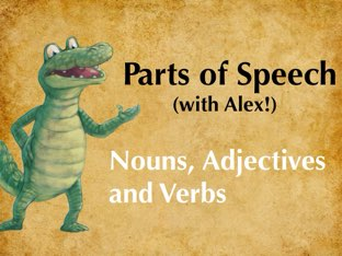 Parts of Speech with Alex by Sophie Taylor