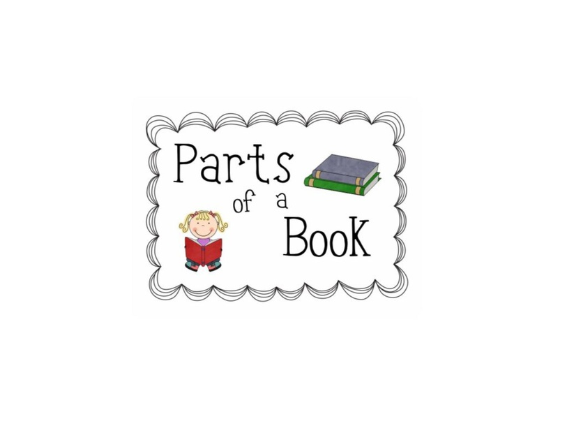 Parts of a Book by Nicole Midura