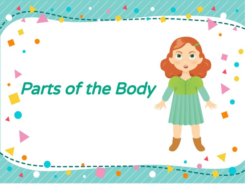 Parts of the body by Nathaly Ramos