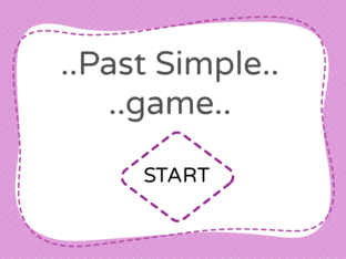 Past Simple game  by REYOUf ALNAMi