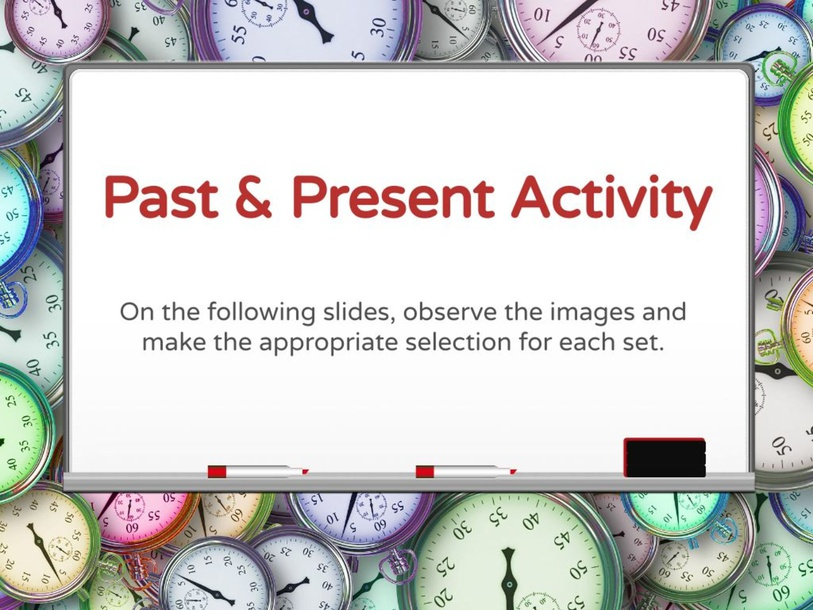 Past  & Present activity by Julio Pacheco