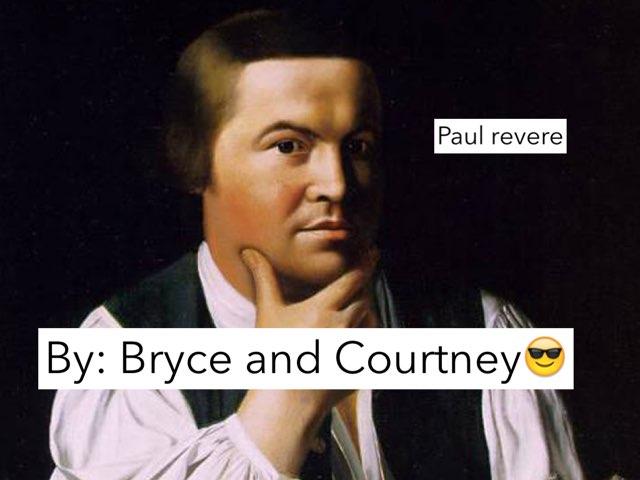Paul Revere by Jane Miller _ Staff - FuquayVarinaE