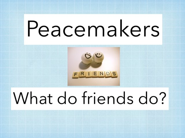 Peacemakers by Julie Gittoes-Henry