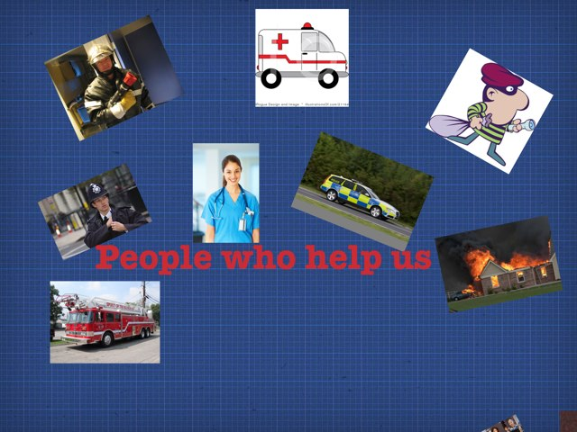 People Who Help Us by Sharon Stark