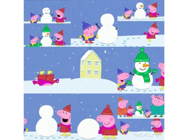 Peppa Snow by Barbi Bujtas