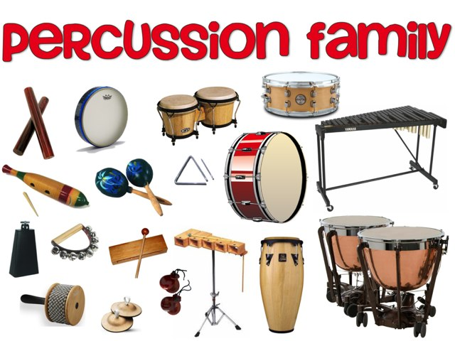 Percussion Family by Jennifer Wentworth