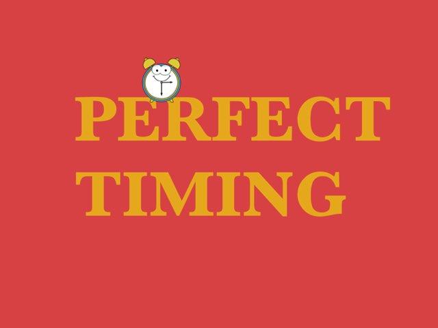Perfect Timing by Luke Fi