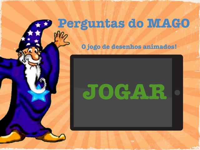 Perguntas Do MAGO-o Jogo De Desenhos Animados by Gerson Nagel