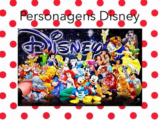 Personagens Disney by Graça Novaes