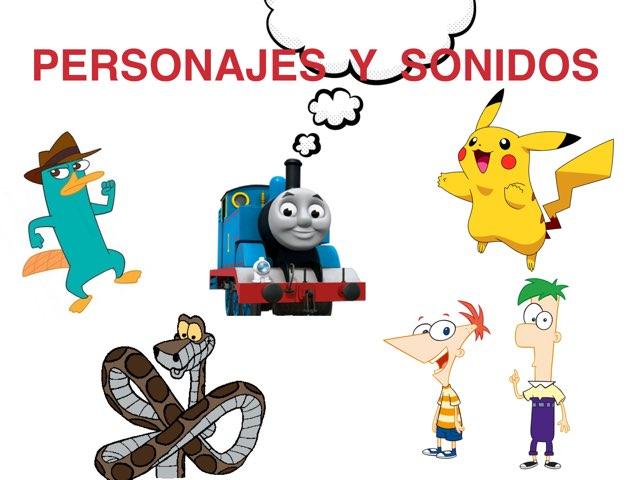 Personajes Y Sonidos by Quiero Compartir