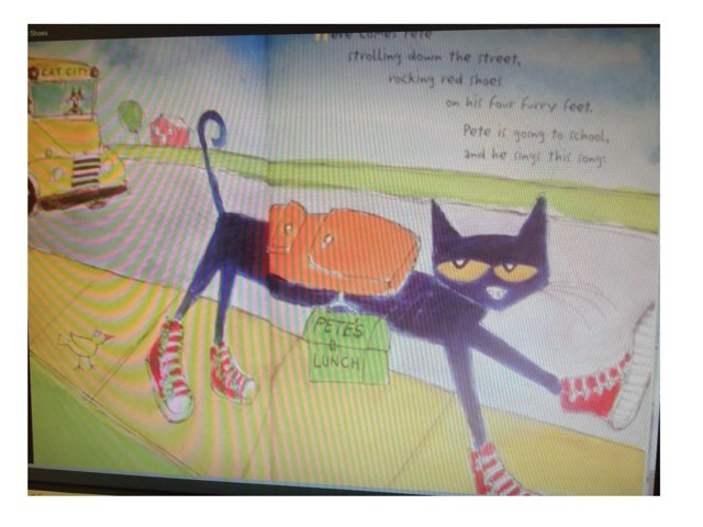 Pete The Cat Goes To School by Jeremy Trautlein