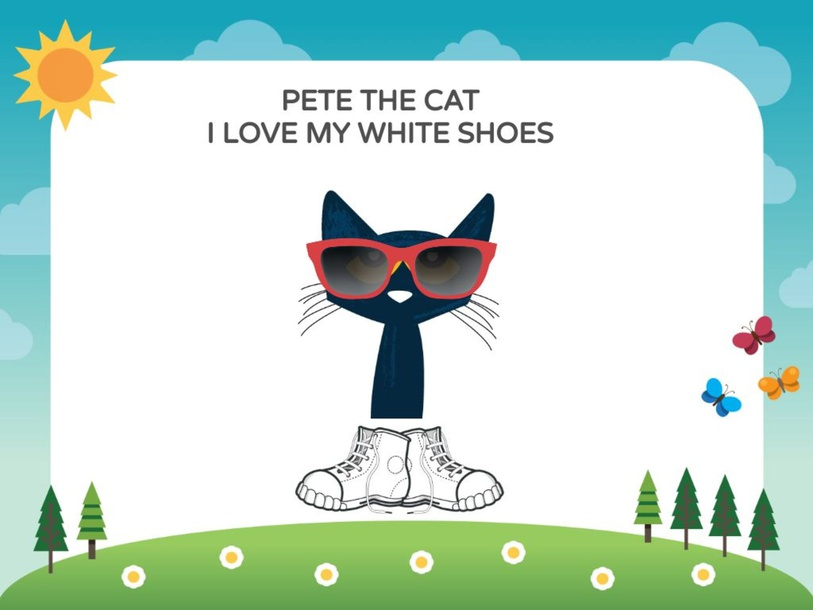 Pete the cat - I love my white shoes by Marianna Merlo