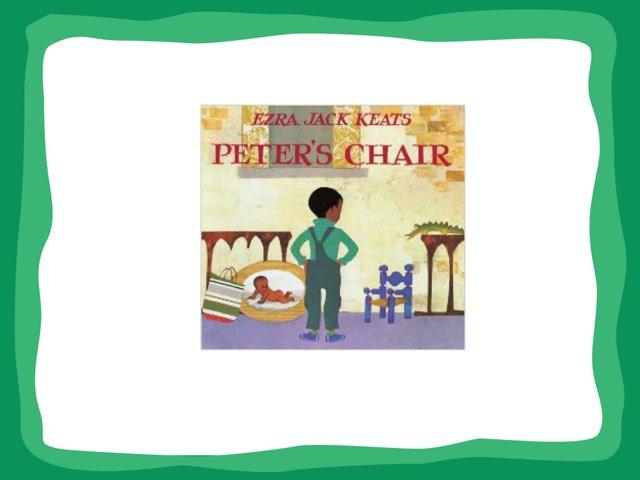 Peter's Chair Vocabulary by Jennifer Klostermann