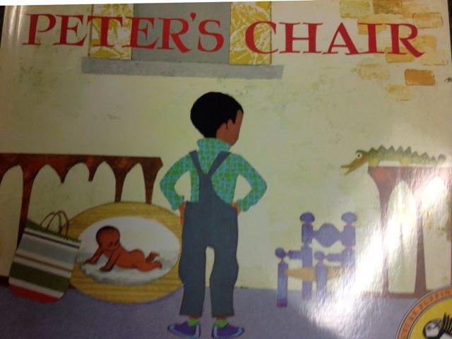 Peter's chair by Francesca Foelber