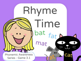 Phonemic Awareness - Rhyming by Jennifer Sanders