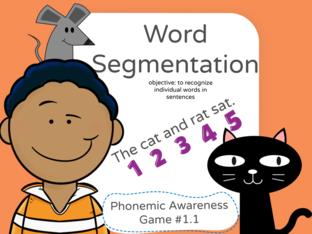 Phonemic Awareness - Word Segmentation 1.1 by Jennifer Sanders