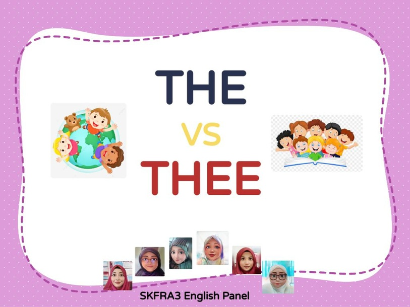 Phonic of The & Thee by lady liaz
