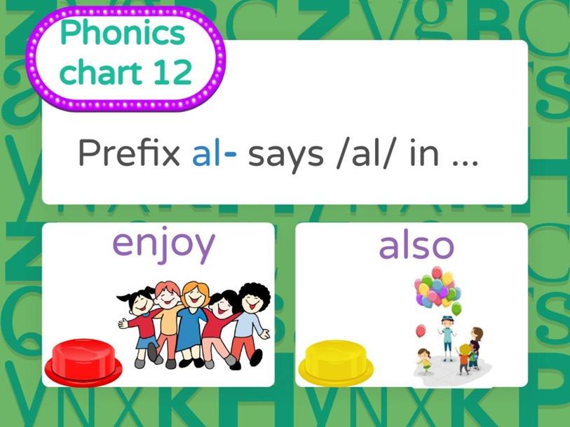 Phonics chart 12 by Jenny Bustillos
