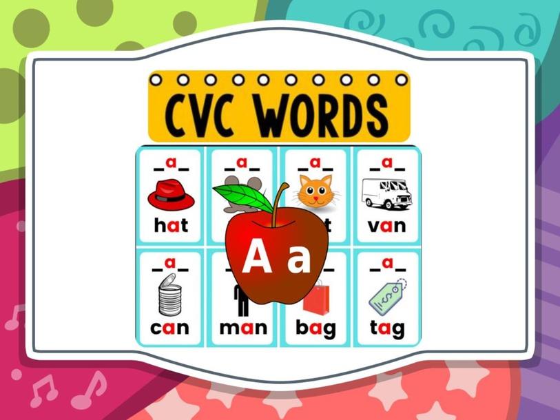 Phonics fun - CVC Words __a__ by Teacher Sapna