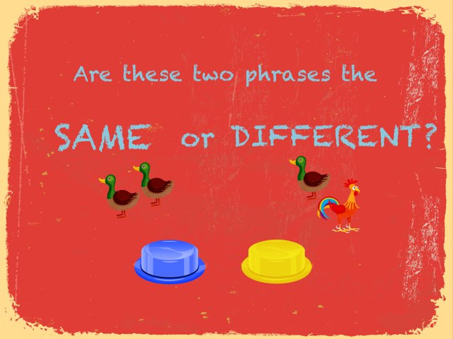 Phrases: Same/Different by Drew Kunkel