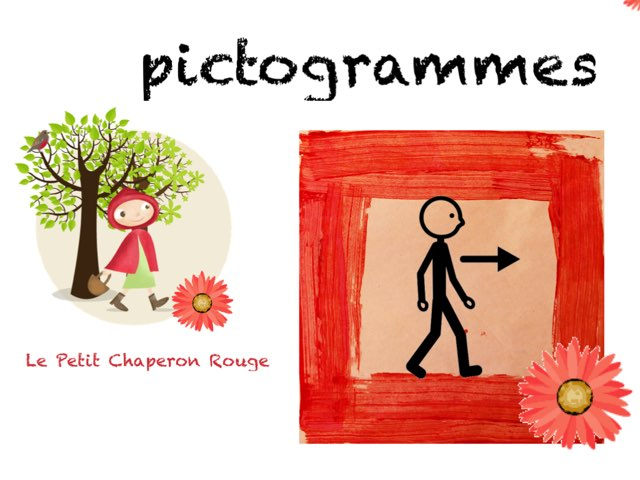 Pictogrammes Petit Chaperon Rouge  by Marie S