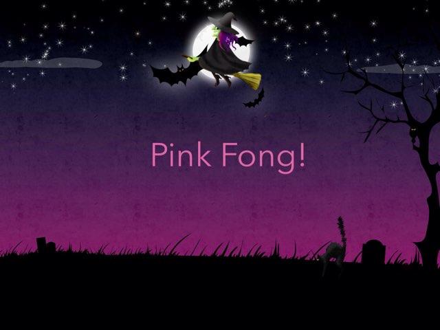 Pink Fong's Halloween!  by Pipoca Laroca